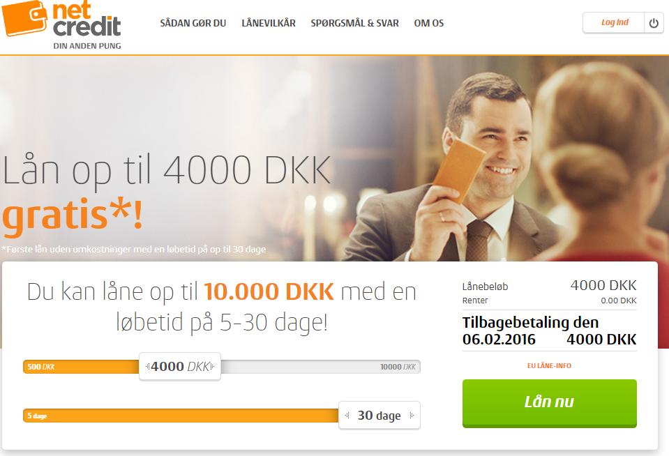 anmeldelse af netcredit.dk