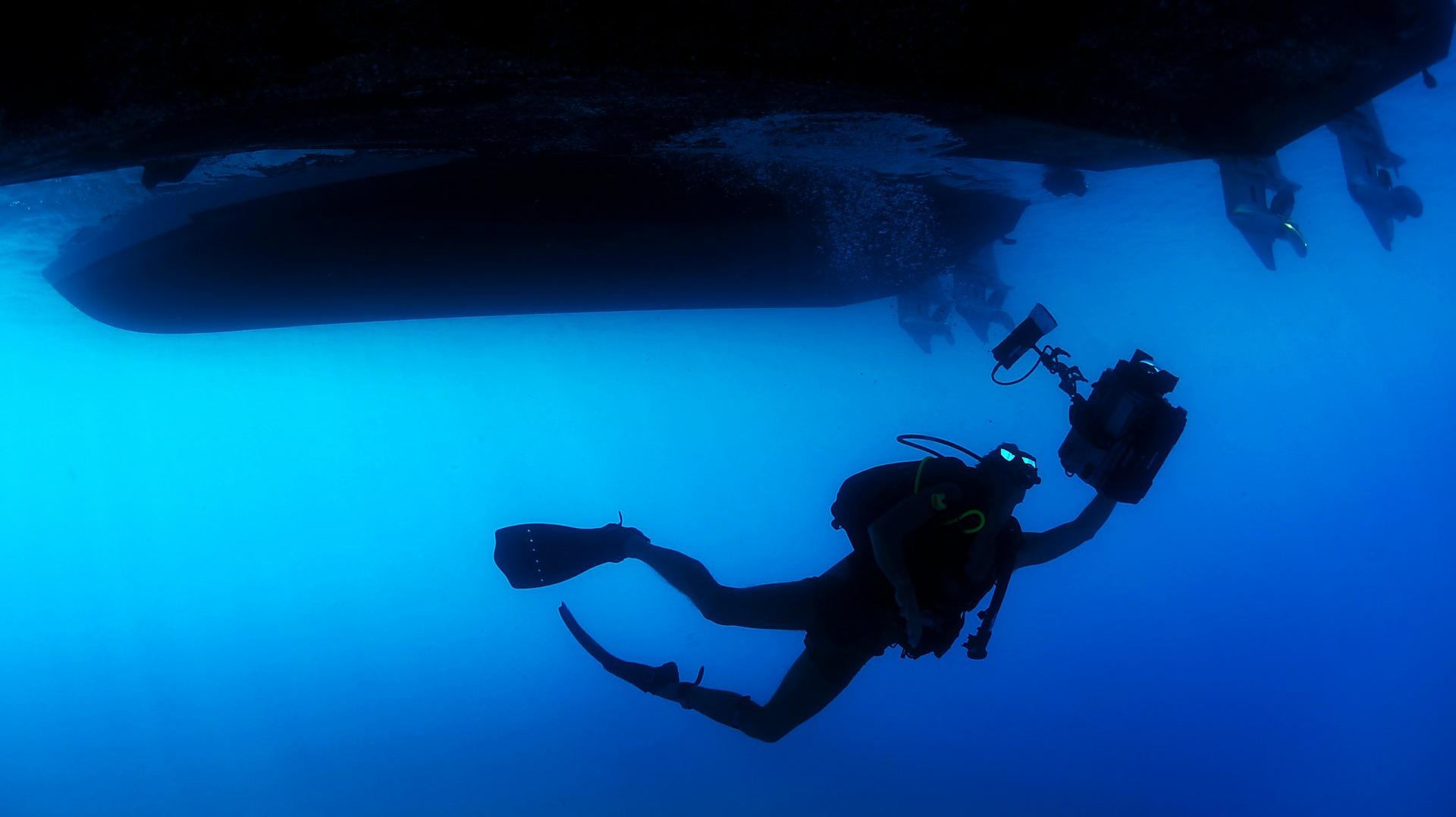 Tag på dykkerferie med et lynlån på nettet